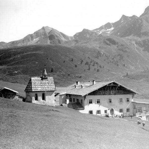 Jagdschloss Kühtai und Kapelle