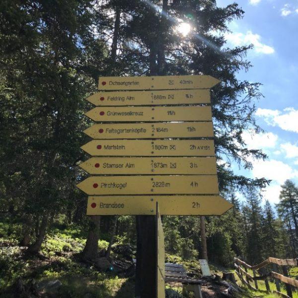 Wanderungen rund um Kühtai