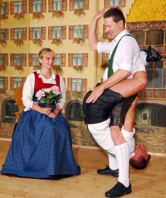 Tiroler Abend in Innsbruck mit der Familie Gundolf